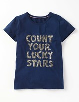 Boden Embellished Graphic T-shirt