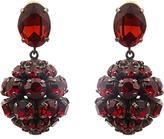 Marni Crystal sphere-shaped drop earrings
