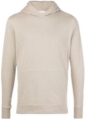 John Elliott Loopwheel side-zip hoodie