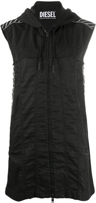 Diesel Hooded Mini Dress