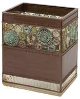 India Ink Boddington Resin Artisan Waste Basket Bronze