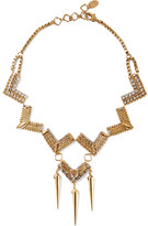 Erickson Beamon Awaken Gold-plated Swarovski Crystal Necklace - one size