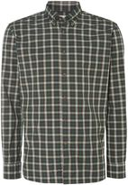 T.M.Lewin Men's Check Slim Fit Long Sleeve Button Down Shirt
