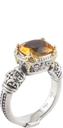 Konstantino Citrine Ring, Size 7 & 8