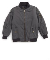 Rock Your Baby Toddler Boy's Keith Bomber Jacket
