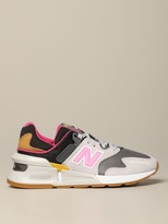 New Balance 997 Sneakers In Mesh And Suede