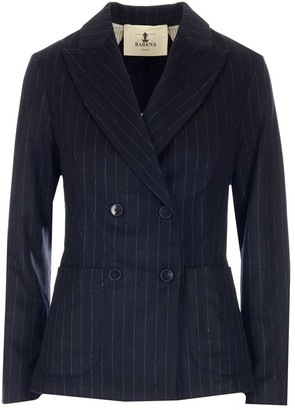 Barena Pinstripe Tailored Blazer