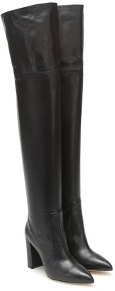 Paris Texas Leather over-the-knee boots