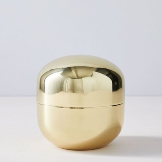 west elm Polished Brass Vanity Boxes