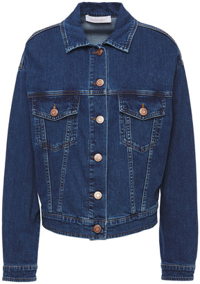 See by Chloe Printed Denim Jacket