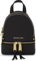 MICHAEL Michael Kors Rhea extra-small saffiano leather backpack