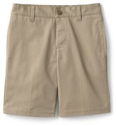 Lands' End Boys 4-20 Adaptive School Uniform Chino Shorts
