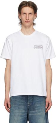 Neighborhood White Bar and Shield T-Shirt