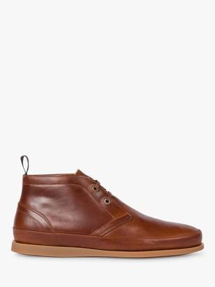 Paul Smith Cleon Leather Chukka Boots, Tan