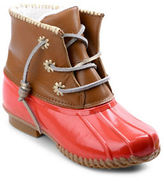 Jack Rogers Chloe Classic Fleece-Lined Leather Duck Boots