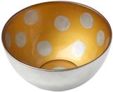 Sheridan Silver & Gold Polka Dot Condi Bowl