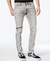 G Star GStar Men's Extra Super Slim Fit Light Aged Jeans