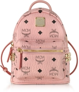 MCM Pink X-Mini Stark Backpack