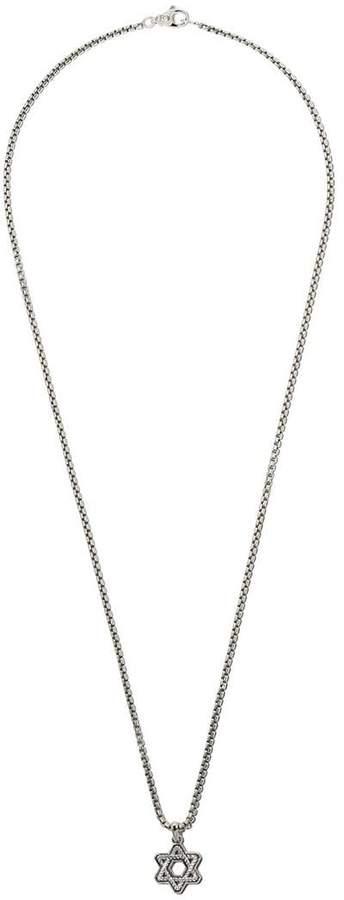 David Yurman Cable Star of David pendant