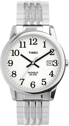 Timex Unisex Easy Reader Perfect Fit Expansion Watch - TW2U08900JT / TW2U09000JT