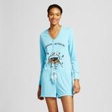 Sesame Street Women's Cookie Monster Snack Attack Pajama Romper
