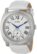 A Line a_line Women's AL-80023-02-WH Pyar Analog Display Japanese Quartz White Watch
