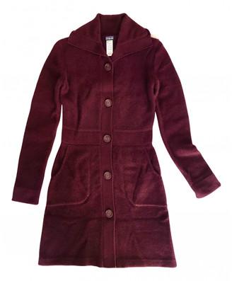 Patagonia Burgundy Cashmere Coats