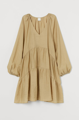 H&M A-line Dress - Beige