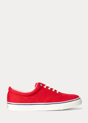 Ralph Lauren Harpoon Canvas Sneaker