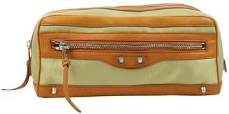 Balenciaga Gold Synthetic Travel bags