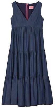 Chambray Vineyard Midi Dress