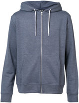 A.P.C. zip hoodie - men - Cotton/Acrylic/Polyester/Viscose - S