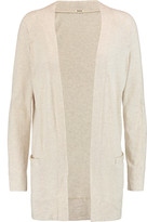 Monrow Cotton and cashmere-blend jersey cardigan