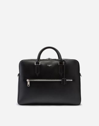 Dolce & Gabbana Briefcase In Calfskin