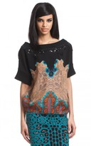 Tracy Reese Embellished T