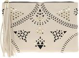 Asos Floral Punchout Clutch Bag