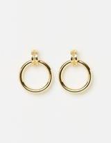 Luv Aj Evil Eye Statement Hoops