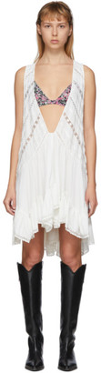 Isabel Marant White Lacre Dress