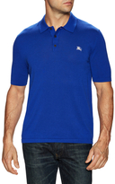 Burberry Embroidered Chest Logo Polo Shirt