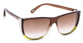 Marc Jacobs Flat Top Ombre Sunglasses