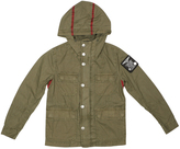 Diesel Grove Green Button-Front Jacket - Boys