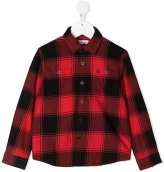 Calvin Klein Kids Checked Classic Shirt