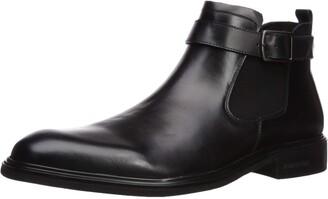 Kenneth Cole New York Men's Donnie Chelsea Boot Cognac 13 M US