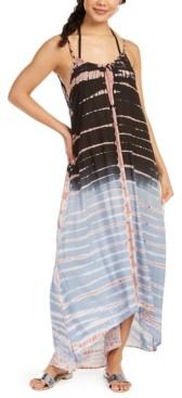 Raviya Tie-Dyed Maxi Swim Cover-Up Dress Women's Swimsuit
