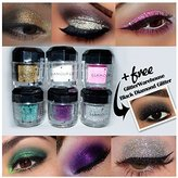 Beauty Treats Loose Glitter Powder for Eyeshadow, Eyeliner, Body Tattoo and More + Free Gw Glitter