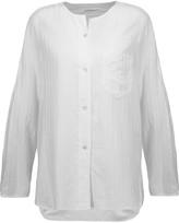 Etoile Isabel Marant Nell cotton-blend blouse