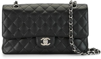 Chanel Pre Owned 2012 quilted Double Flap shoulder bag