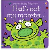 Bed Bath & Beyond Usborne That's Not My Monster Touchy-Feely Board Book