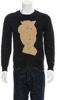 Carven Intarsia Pullover Sweater