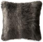 Loloi Rugs Poly-Set Pillow Cover, Black and Gray
